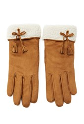 Forever 21 Faux Suede Gloves