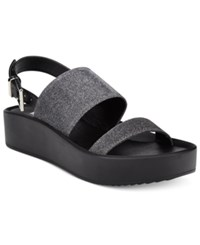 Wanted Glowing Platform Sandals Women's Shoes Pewter