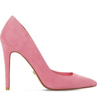 Dune Aiyana Suede Courts Pink Suede