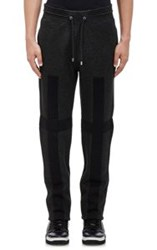Givenchy Fleece Slim Sweatpants Colorless