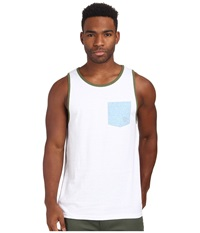 Matix Clothing Company Standard Clash Tank Top White Men's Sleeveless