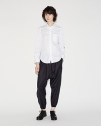Fwk Engineered Garments Balloon Pant Navy Stripe Worsted Wool