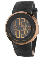 I Gucci Collection Digital Watch Black Gold