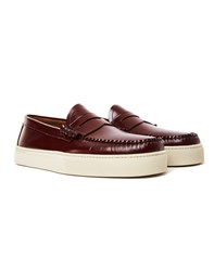 G.H. Bass And Co. Weejun Larson Moc Penny Loafer Burgundy