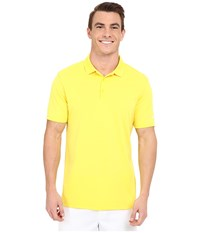 Nike Victory Solid Polo Yellow Strike White Men's Short Sleeve Pullover