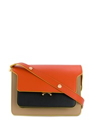 Marni Trunk Shoulder Bag Orange