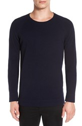 Theory Men's Donners Trim Fit Cashmere Sweater Eclipse