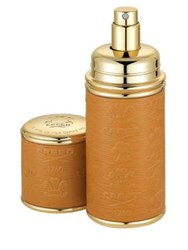 Creed Camel And Gold Trim Leather Deluxe Atomizer 1.7 Oz. No Color