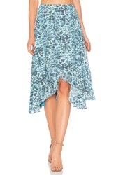 House Of Harlow X Revolve Cici Skirt Teal