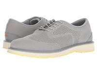 Swims Barry Derby Knit Light Gray Faded Lemon Shoes