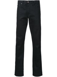 Simon Miller Straight Leg Jeans Black