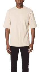 Tom Wood Comfy Tee Sand Beige