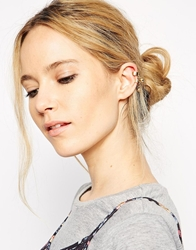Designsix 2 Drop Ear Cuffs Gold