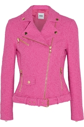 Moschino Cheap And Chic Stretch Boucla Jacket