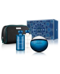 Bulgari Bvlgari Men's Aqva Pour Homme Atlantique 4 Pc. Gift Set No Color