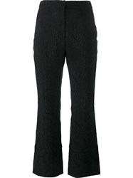 Erdem Brocade Trousers Black