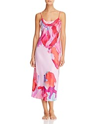 Natori Abstract Gown Bright Lilac Multi