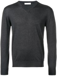 Cruciani Perfectly Fitted Sweater Grey