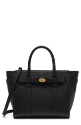 Mulberry Small Bayswater Zipped Leather Satchel