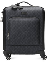 Gucci Gg Supreme Suitcase Black