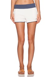 Marc By Marc Jacobs Sadie Solid Terry Chelsea Short Cream