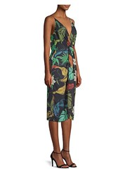 Delfi Collective Frankie Floral Print Sheath Dress Multi