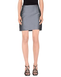 Manuel Ritz Skirts Mini Skirts Women Dark Blue