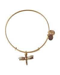 Alex And Ani Dragonfly Expandable Wire Bangle Rafaelian Gold