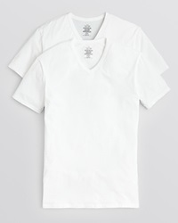 Calvin Klein Stretch V Neck Undershirt Pack Of 2