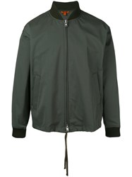 Barena Zipped Bomber Jacket Green