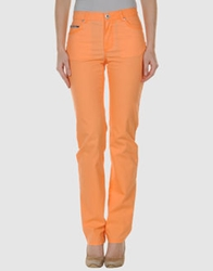 Krizia Jeans Casual Pants Orange