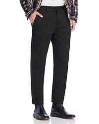 Obey Straggler Flooded Slim Fit Cropped Pants Black