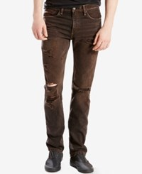 Levi's 511 Slim Fit Ripped Jeans The Rad Destructed