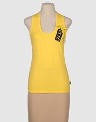 Exte Topwear Tops Women Yellow