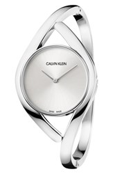 Calvin Klein Party Dial Bracelet Watch 28Mm Silver