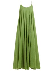 Three Graces London Mabelle Trapeze Maxi Dress Green
