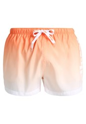 Ellesse Rombo Swimming Shorts Apricot Optic White Orange