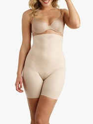 Miraclesuit High Waist Thigh Slimming Shorts Nude