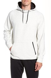 Zella Active Pullover Hoodie White Oxide Heather