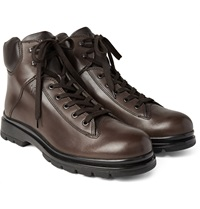 Tod's Commando Sole Leather Boots