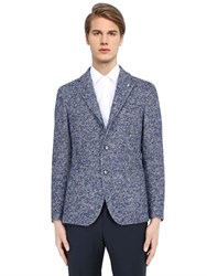 Tagliatore Wool Alpaca Blend Houndstooth Jacket