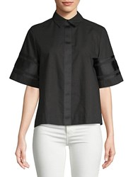 Public School Oversized Dieter Top Black