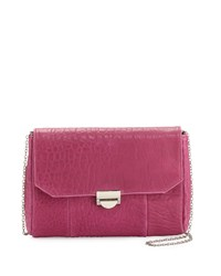 Lauren Merkin Mini Marlow Lambskin Crossbody Butter