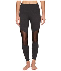 Onzie Moto Capris Slate Women's Workout Metallic