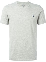 Ralph Lauren Basic Logo T Shirt Grey