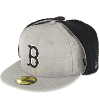 New Era 59Fifty Fitted Trapper Hat Light Grey