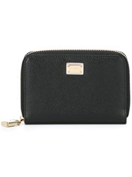 Dolce And Gabbana Small 'Dauphine' Wallet Black