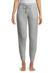 Roudelain Side Stripe Drawstring Joggers Grey