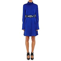 Lanvin Women's High Neck Shirtdress Blue