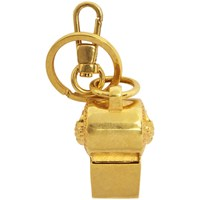 Versace Gold Tribute Whistle Keychain